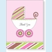 Striped Pink Buggy Notes - click to enlarge