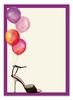 Stylish Party Balloons Invitation