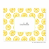 Summer Yellow Folded Notes (set/25)