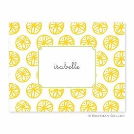 Summer Yellow Folded Notes (set/25) - click to enlarge