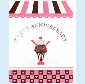 Sweet Anniversary Card - click to enlarge