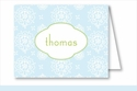 Sweet Blue Floral Note Cards
