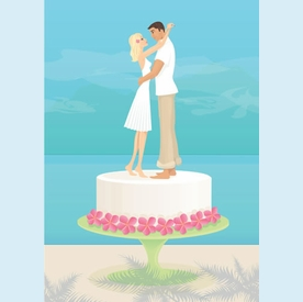 Sweet Newlyweds Card - click to enlarge