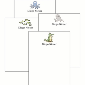Swimmers Cute Collections Notepad Set - click to enlarge