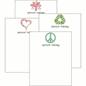 Symbols Cute Collections Notepad Set - click to enlarge