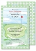 Tee Time Large Flat Invitation