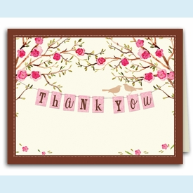Thank You Banner Thank You Notes - click to enlarge