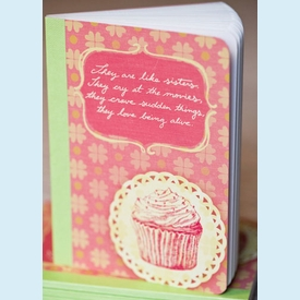 """They are like sisters..."" Mini Notebook - click to enlarge"