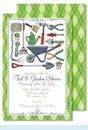 Tool & Garden Large Flat Invitation