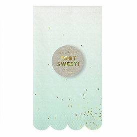 Toot Sweet Ombre Guest Napkins - click to enlarge