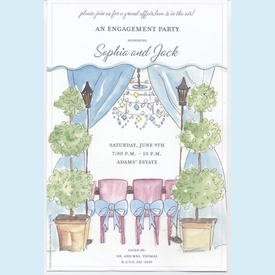 Topiary Tent Invitation - click to enlarge