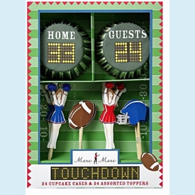 Touchdown Cupcake Kit - click to enlarge
