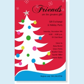 Trendy Tree Invitation - click to enlarge