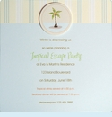 Tropical Escape Invitation
