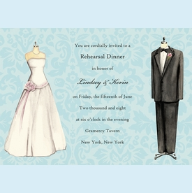 Wedding Attire Invitation - click to enlarge