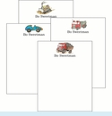 Wheels Cute Collections Notepad Set