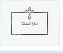 White Cross Thank You Notes
