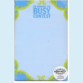 Winning the Busy Contest Pad - click to enlarge