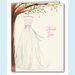 Wonderful Wedding Dress Thank You Notes - click to enlarge