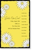 Yellow Daisy Graphic Invitation