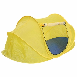 1-2 Person Portable Camping Pop Up Beach Tent Yellow