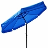 10 Foot Tilt Outdoor Patio Umbrella Furniture Blue