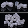 "10 Pcs 1/2"" 2 Wire L Compression Connector for Rope Light"