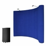 10'x8' Portable Trade Show Display Booth Pop Up Blue w/ Case