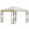10x10 ft Garden Canopy Gazebo Top Replacement Beige