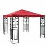 10x10 ft Garden Canopy Gazebo Top Replacement Red