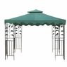 10x10 ft Garden Gazebo Replacement Canopy Top Green