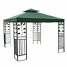 10x10 ft Gazebo Canopy Replacement Top Garden Green