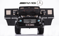 Magic Cars® Big Seater Mercedes Remote Control Electric Ride On G55 AMG G Wagon For Kids W/Leather Seat
