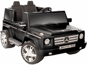 mommy me 12 volt 2 seat electric mercedes ride on truck g55 amg g wagon