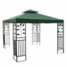 12x12 ft Gazebo Canopy Replacement Top Garden Green