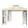 12x12 ft Patio Canopy Gazebo Replacement Top Beige