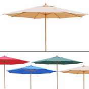 13 Foot Market Patio Umbrella Outdoor Furniture Multiple Color Options