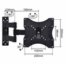 """15-32"""" Swivel LCD LED TV Wall Mount Furniture Stands"""
