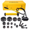 15 ton Hydraulic Metal Hole Puncher Hole-driver Kit Tool Set