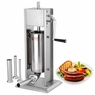 15LB Commercial SS Vertical Sausage Stuffer with 2 Speeds