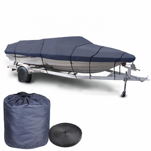 16'-18' Waterproof V-Hull Trailerable Runabout Boat Cover