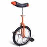 16 inch Wheel Unicycle Orange