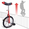 16 inch Wheel Unicycle Red