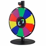 "16"" Tabletop White Dry Erase Clicker Prize Wheel 10 Slot"