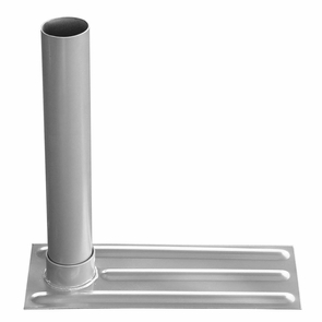 """16""""x6"""" Steel Telescoping Tailgating Flagpoles Tire Stand"""