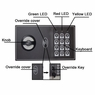 16x4x22 in Home Security Electronic Digital Wall Safe Black