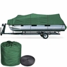 17'-19' Waterproof Pontoon Trailerable Boat Cover Green