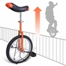 18 inch Wheel Unicycle Orange