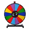 "18"" Tabletop Color Dry Erase Spinning Prize Wheel 14 Slot"