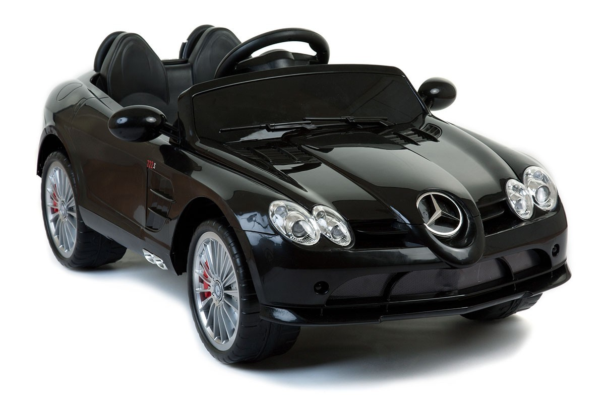 Magic Cars® 12 Volt SLR Mercedes Benz Ride On RC Car For Kids W/Stereo U0026  Bluetooth